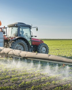 tractor spraying pesticides, ceta