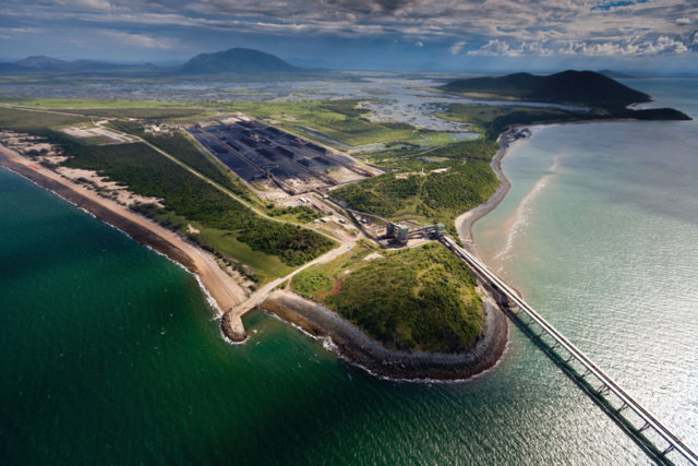 9th March 2012. Abbot Point, Queensland Abbot Pt, surrounded by wetlands and coral reefs, is set to become the worlds largest coal port . ©Greenpeace/Tom Jefferson. NO ARCHIVE. NO RESALE. CREDIT COMPULSORY. EDITORIAL USE ONLY. OK FOR ONLINE REPRO
