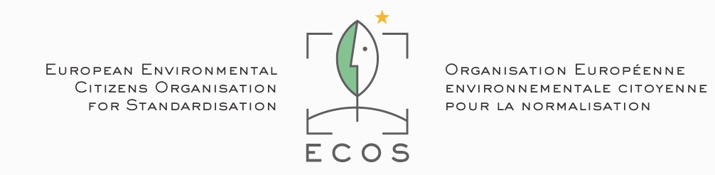 ECOS logo with text